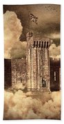 Castle In The Clouds Beach Towel