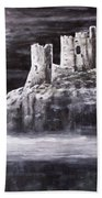 Castle In The Sky Beach Towel