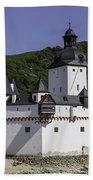 Castle Pfalz Beach Towel