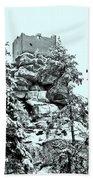 Castle Ruin Flossenbuerg Beach Towel