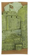 Castle Rushen Beach Towel