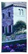 Castle Sestri Levante Beach Towel