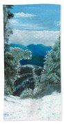 Castlerock Run Beach Towel