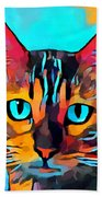 Cat 10 Beach Towel