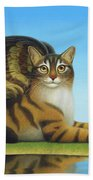 Cat And Mouse Beach Towel