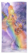 Cat In The Dreaming Hat Beach Towel
