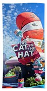 Cat In The Hat Series 2999 Beach Towel