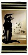 Cat Show - Frame 5 Beach Towel