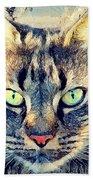 Cat Simba Beach Towel
