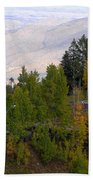 Catalina Mountains In The Fall Beach Towel