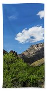 Catalina Mountains In Tucson Arizona Beach Towel