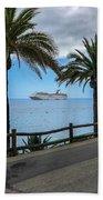Catalina Palms Beach Towel