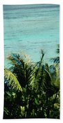 Catamaran On Tumon Bay Beach Towel