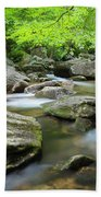 Catawba River In Summer Beach Towel