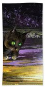 Catechismic Apparition Beach Towel