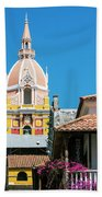 Catedral De Cartagena Beach Towel