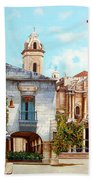 Catedral De La Habana Beach Towel