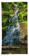 Cathedral Falls - Paint Beach Towel