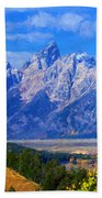 Cathedral Group Impressions Beach Towel