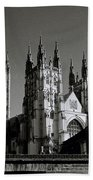 Cathedral Of Canterbury Beach Towel