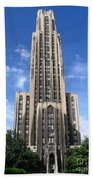Cathedral Of Learning Beach Towel