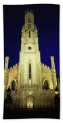 Cathedral Of The Assumption, Carlow, Co Beach Towel