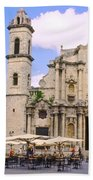 Cathedral Of The Virgin Mary Of The Immaculate Conception Beach Towel