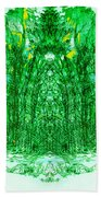 Cathedral Of Trees Beach Towel