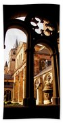 Cathedral Of Trier Window Beach Towel
