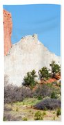 Cathedral Rock In Garden Of The Gods Park Beach Towel