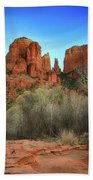 Cathedral Rock In Sedona Beach Towel