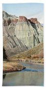 Cathedral Rock John Day River Beach Towel