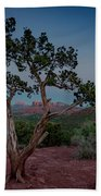 Cathedral Rock Overview Beach Towel by Gary Lengyel
