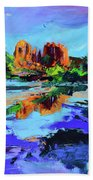 Cathedral Rock - Sedona Beach Towel