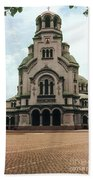 Cathedral Saint Alexandar Nevski Beach Towel