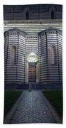 Cathedral Side Door Orvieto Italy Beach Towel