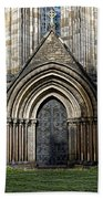 Cathedral Side Door Beach Towel
