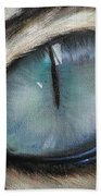 Cat's Eye Beach Towel