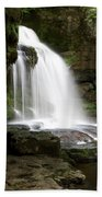 Cauldron Falls, West Burton, North Yorkshire Beach Towel