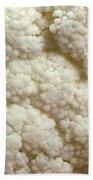 Cauliflower Head Beach Towel