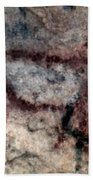 Cave Art: Covalanas Beach Towel