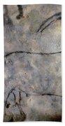 Cave Art: Ibex Beach Towel