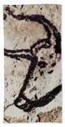 Cave Art: Lascaux Beach Sheet