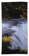 Cave Falls Beach Towel