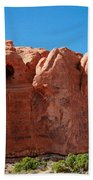 Cave Formation Arches National Park Beach Towel