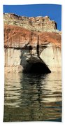 Cave Opening At Lake Powell Beach Towel
