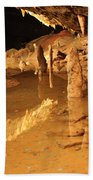 Cave Reflections Beach Towel