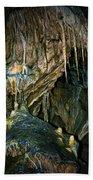 Cave03 Beach Towel by Svetlana Sewell