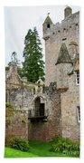 Cawdor Castle Beach Towel