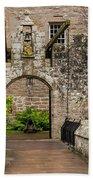 Cawdor Castle Entrance Beach Towel